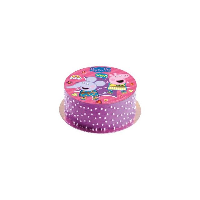 Sugar disc Peppa Pig - Dekora