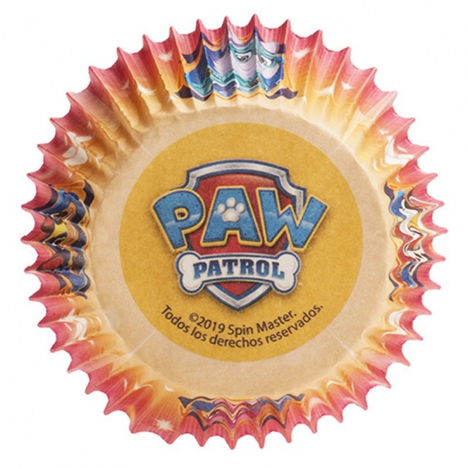 25 caissettes - Paw Patrol - Dekora