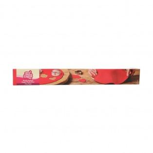Rouleau de pâte à sucre étalée - Rouge (Fire Red)  FunCakes