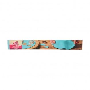 Rouleau de pâte à sucre étalée - Bleue ( Baby Blue)  FunCakes
