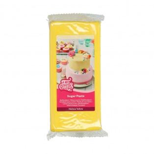 Pâte à sucre - Jaune (Mellow Yellow) - 1kg - FunCakes