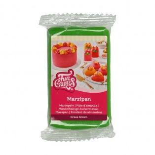 Marzipan green -250g-FunCakes