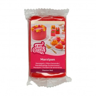 Marzipan Passion Red -250g-FunCakes