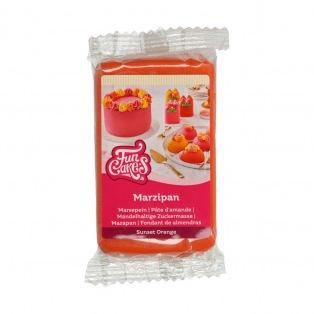 Marzipan Sunset Orange - 250g - FunCakes