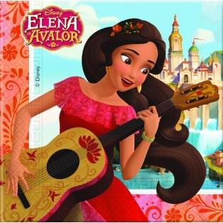 20 serviettes - Elena