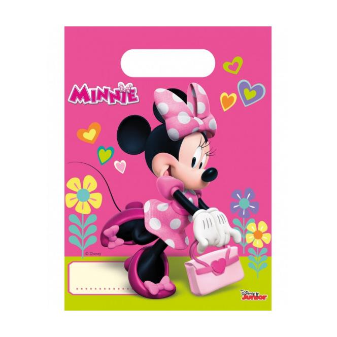 6 sachets de bonbons Minnie