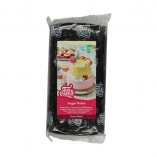 Pâte à sucre - Noir (Raven Black) - 1kg - FunCakes