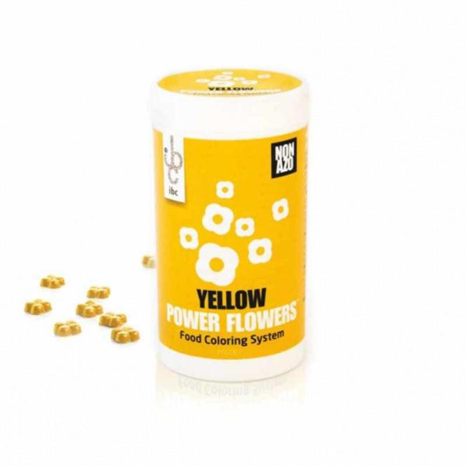 Yellow Power Flower™ 50G Callebaut