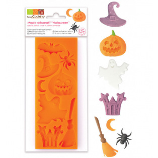 Decorative Silicone Mould - Halloween - Scrapcooking