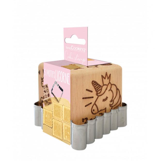 Stamp & Cutter - Unicorn - Scrapcooking
