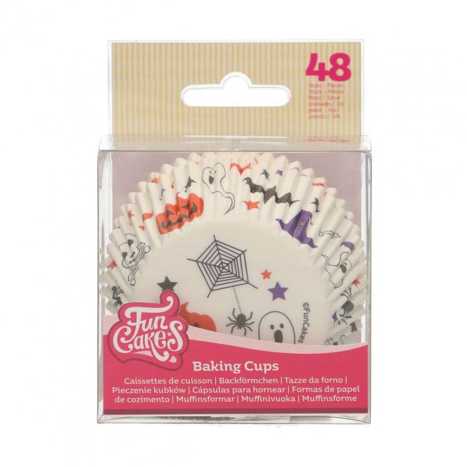 Baking Cups - Halloween - 48pcs - Funcakes