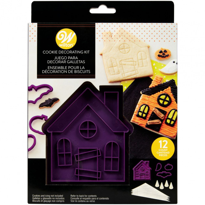 Cookie cutter set - Haunted House - Wilton