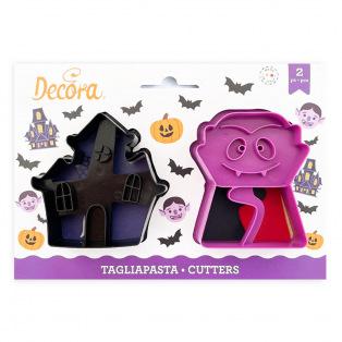 Cookie Cutters - Vampire - 2pcs - Decora