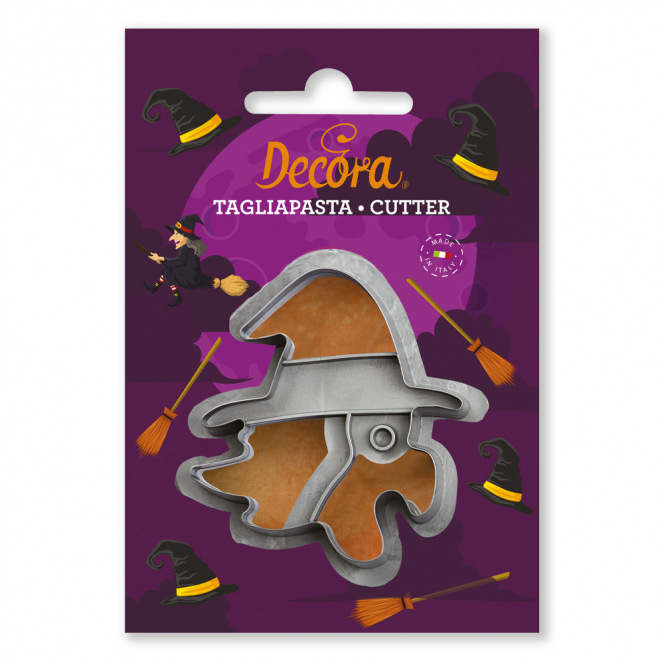 Cookie Cutter - Witch Head - Decora