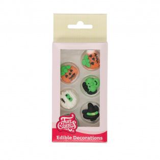 Sugar Decorations - Halloween - 12pcs - Funcakes