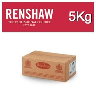 Rolled Fondant  White Covering Paste 5kg - Renshaw Pro