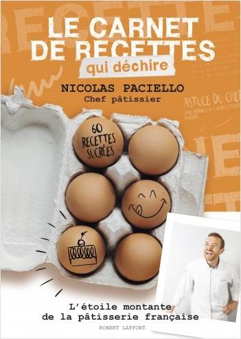 Livre de recette de Nicolas Paciello